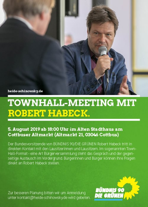 Townhall Habeck